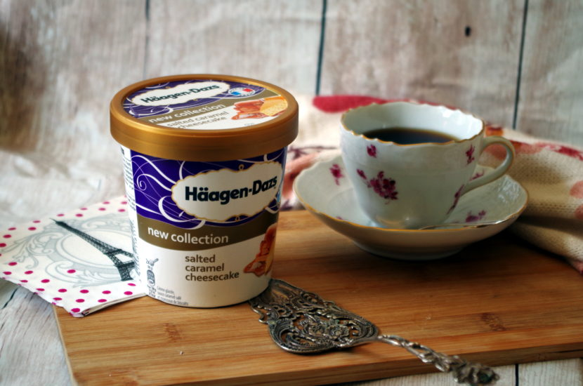 Haagen-Dazs Eis Salted Caramel Cheesecake Review
